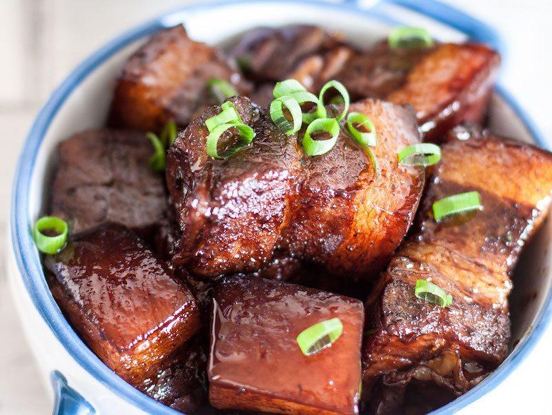 Asian Style Braised Pork Belly