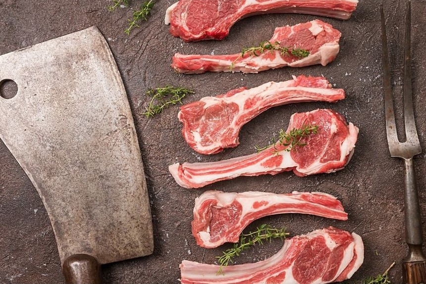Paul C. Reilly's Grilled Lamb Chops with Spicy Tomatillo and Mint Glaze